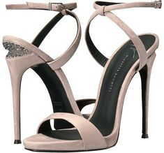 Giuseppe Zanotti Women's Cam Puff Sandal for sale Open Toe High Heels, Sexy High Heels, High Heel Boots, Womens High Heels, Shoe Boots, Women's Shoes, Shoes 2017, Ankle Straps, Ankle Strap Sandals