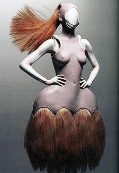 """Alexander McQueen Savage Beauty, The HORSE from the """"Chess Collection"""" inspired by HARRY POTTER"""