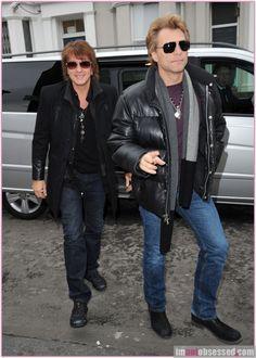 Jon Bon Jovi & Richie Sambora Head To A London Studio - Lawd have mercy,mercy....amen;)