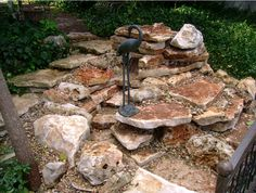 #Stone #Fountain by DH Landscape Design