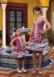 Resultado de imagen de falda flamenca de niña