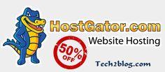 Hostgator Web Hosting 50% Discount Coupon