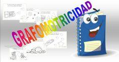 Grafomotricidad para niños. Traza y colorea estos dibujos