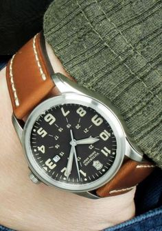 There are field watches available for every budget and so every man should consider adding one to his collection.