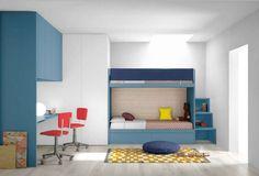 Disegni cameretta ~ Cameretta moderna design componibile su misura per bambini e