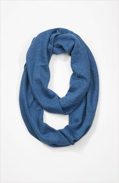 scarves  summer linen knit infinity scarf at J.Jill