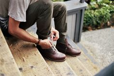 1000 mile leather boot by wolverine