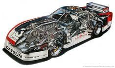 1981 Datsun Silhouette Formula IMSA-GTU Car by Inomoto