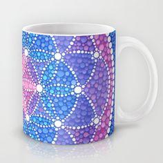 Starry Flower of Life Mug https://www.pinterest.com/lahana/mugs-cups-and-drinkware/