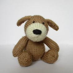 Ravelry: Mortimer Puppy pattern by Amanda Berry