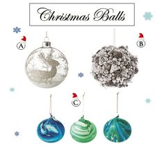 Christmas Balls www.theteeliebog.com Make your Christmas tree lovely with these adorable Christmas balls. #TeelieBlog
