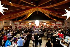 Whistler Conference Centre during CRUSH by GoWhistler #whistler #whistler events #robpalmwhistler