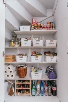 Tips voor het opruimen van je voorraadkast Muebles Ahorra Espacio d71a40bd2c45
