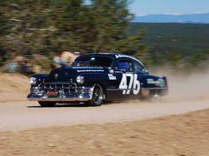 Hayden Groendyke's 1949 Cadillac Sedanet at the '11 Pikes Peak Hill Climb, why not.