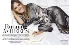 Sarah Jessica Parker wearing Haider Ackermann Grosgrain-Trimmed Silk-Blend Jacquard and Leather Skinny Pants, Attico Embroidered Satin Jacket and Percossi Papi Gold Multi-Stone Ring Carrie Bradshaw, City Style, Her Style, Sarah Jessica Parker Lovely, Pamela Hanson, Satin Jackets, Skinny Pants, Tango, Style Icons