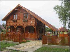 Casa de vacanta din lemn masiv