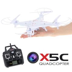 Free shipping Syma X5C x5c-1 Quadrocopter 2.4G 6 Axis GYRO HD Camera RC Quadcopter RTF Helicopter RC Drone with 2.0MP Camera $ 80.33 and FREE Shipping  Tag a friend who would love this!  Active link in BIO  #drone #fly #instagood #drones #uav #dji