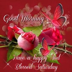 Good Morning, Have A Happy And Blessed Saturday good morning saturday saturday quotes good morning quotes happy saturday good morning… Happy Saturday Pictures, Good Morning Saturday Images, Happy Saturday Quotes, Saturday Greetings, Good Saturday, Good Morning Picture, Good Morning Greetings, Morning Pictures, Good Morning Wishes