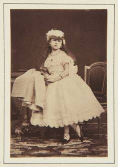 Princess Beatrice, November 1866 [in Portraits of Royal Children Vol.10 1866-67] | Royal Collection Trust