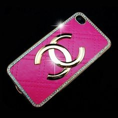Pink Chanel iPhone case