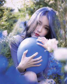 Photo album containing 66 pictures of IU Iu Twitter, Peinados Pin Up, Love Poems, Korean Actresses, K Idols, Korean Singer, Blue Hair, Girl Crushes, Foto E Video
