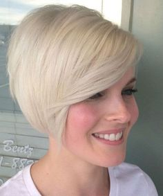 Short Blonde Hairstyles 2018 5 - Hairstyles Fashion and Clothing Short Blonde Haircuts, Short Blonde Bobs, Beauté Blonde, Blonde Bob Hairstyles, Best Short Haircuts, Blonde Beauty, Hairstyles 2018, Bob Haircuts, Short Bobs