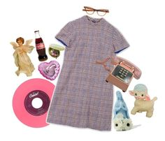 """""""Baby, you're gor(e)geous"""" by goingtocalifornia ❤ liked on Polyvore featuring vintage, retro and 60s"""