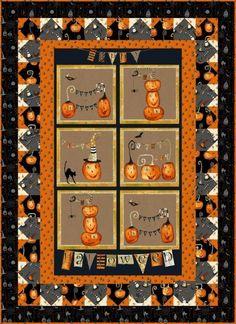 - Cheeky Pumpkins Wall Quilt - Craft Town Fabrics