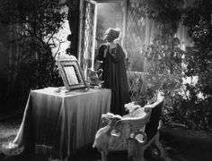 Josette Day in La Belle et la Bête directed by Jean Cocteau, 1946. Photo by G.R Aldo