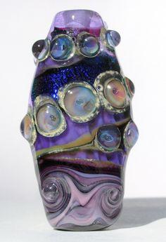 Cuenta de vidrio realizada por Patty Lakinsmith  http://www.objetosconvidrio.com/blog/patty-lakinsmith  http://www.etsy.com/shop/PattyLakinsmith/