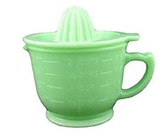 Amazon.com: G3138J Jadeite Green Glass 2 Cup Capacity Jadite ...