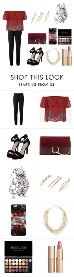 """""""Tina"""" by jasmine-25 ❤ liked on Polyvore featuring Chloé, River Island, Stella + Ruby and Charlotte Tilbury"""