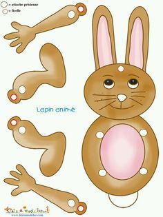 Felt Crafts, Easter Crafts, Diy And Crafts, Crafts For Kids, Paper Puppets, Paper Toys, Imprimibles Toy Story Gratis, Doll Toys, Dolls