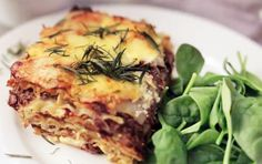 Lamb and Cabernet Lasagna
