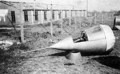 Miles M.52 transonic research aircraft escape pod
