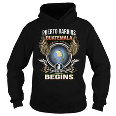 Puerto Barrios-Guatemala T Shirts, Hoodies. Check price ==► https://www.sunfrog.com/LifeStyle/Puerto-Barrios-Guatemala-Black-Hoodie.html?41382 $39