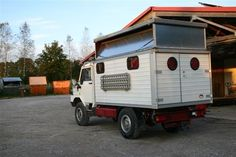 Bremach camping car.