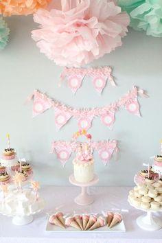 Girly Ice Cream 5th Bday Party