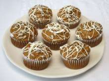 Datlové mafiny Mini Cupcakes, Breakfast, Healthy, Sweet, Christmas Cakes, Desserts, Food, Basket, Morning Coffee
