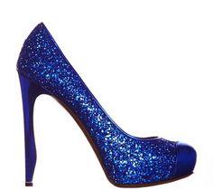 electric blue n glitter!! i m in heaven!    nicholas-kirkwood-shoes-fall-2012