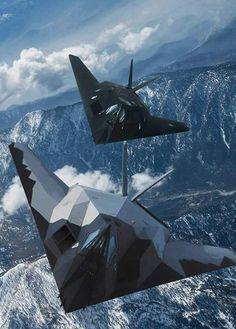 "fireinhorizon:  ""F-117 Nighthawk  """