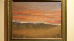 Autumn Grass Sunset