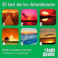 DE TODO UN POCO: EL TEST DE LOS ATARDECERES.