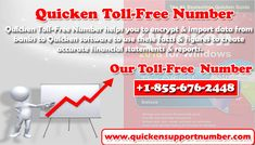Dial #Quicken_Toll_Free_Number +1-855-676-2448 and solve your all queries regarding #Quicken_Accounting_Software.
