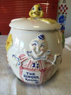 Vintage Romper Room Cookie Jar