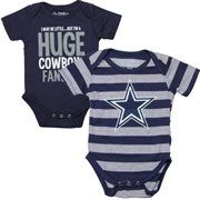 ... Newborn Infant Dallas Cowboys Navy Mason Bodysuit b20e50204