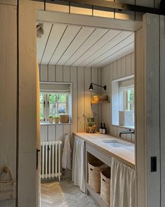 """Bee Osborn on Instagram: """"The smallest, but possibly my favourite room in the cottage. A multi purpose room that houses the washing machine, tumble dryer, and…"""" Multipurpose Room, Entry Hall, Mudroom, Nifty, Interior Styling, Home Office, Cottage, Outdoor Decor, Furniture"""