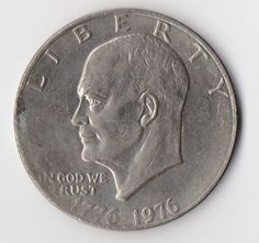 "GIN! LAST ONE! 1776 - 1976 ""D"" BICENTENNIAL EISENHOWER ONE DOLLAR COIN FREE SHIPPING!"