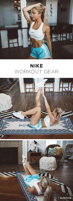 Consistency is the secret to fab abs according to blogger Cara Loren. She shared her excuse-proof exercise routine that you can do anywhere. (Bonus: No equipment needed!) Just slip into comfortable activewear like this Nike outfit and complete this circuit two times: Lower ab crunch, 20/side Leg raises, 20 Toe taps, 20 Scissors, 20 Bicycles, 15/side Alternating toe touches, 20/side Straight body crunch, 20 Plank, 1 minute Reach your fitness goals with Kohl's.