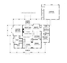 Southern Farmhouse At Its Finest (HWBDO07560) | Farmhouse House Plan from BuilderHousePlans.com